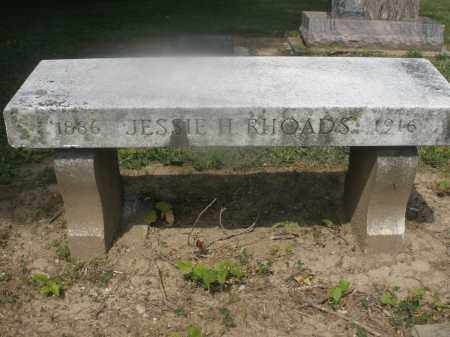 RHOADES, JESSIE H. - Montgomery County, Ohio   JESSIE H. RHOADES - Ohio Gravestone Photos