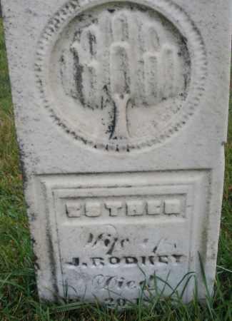 RODKEY ?, ESTHER - Montgomery County, Ohio | ESTHER RODKEY ? - Ohio Gravestone Photos