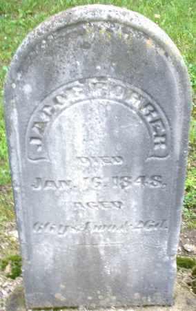 ROHRER, JACOB - Montgomery County, Ohio   JACOB ROHRER - Ohio Gravestone Photos