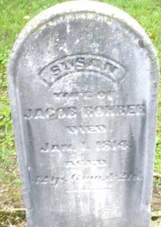 ROHRER, SUSAN - Montgomery County, Ohio | SUSAN ROHRER - Ohio Gravestone Photos