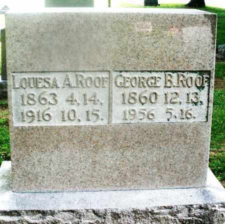 ROOF, LOUESA A. - Montgomery County, Ohio | LOUESA A. ROOF - Ohio Gravestone Photos