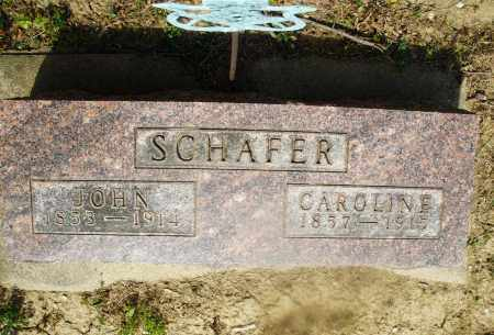 SCHAFER, CAROLINE - Montgomery County, Ohio | CAROLINE SCHAFER - Ohio Gravestone Photos
