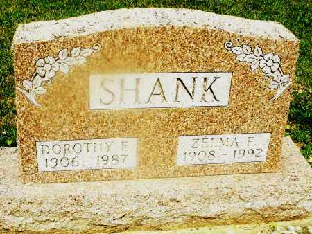 SHANK, ZELMA F. - Montgomery County, Ohio | ZELMA F. SHANK - Ohio Gravestone Photos