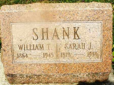 SHANK, WILLIAM T. - Montgomery County, Ohio | WILLIAM T. SHANK - Ohio Gravestone Photos