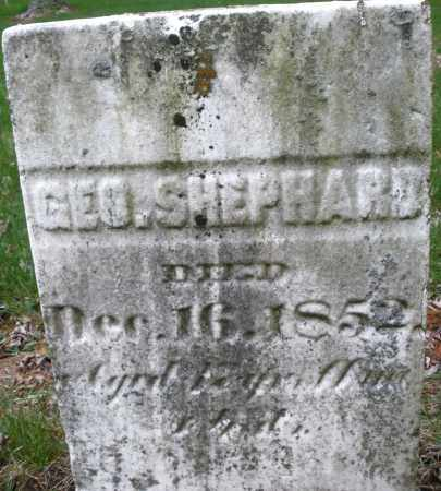 SHEPHARD, GEORGE - Montgomery County, Ohio | GEORGE SHEPHARD - Ohio Gravestone Photos