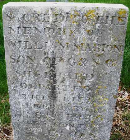 SHEPHARD, WILLIAM MARION - Montgomery County, Ohio | WILLIAM MARION SHEPHARD - Ohio Gravestone Photos