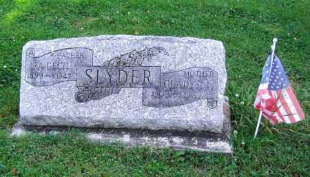 SLYDER, GLADYS I - Montgomery County, Ohio | GLADYS I SLYDER - Ohio Gravestone Photos