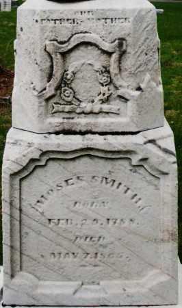 SMITH, MOSES - Montgomery County, Ohio   MOSES SMITH - Ohio Gravestone Photos