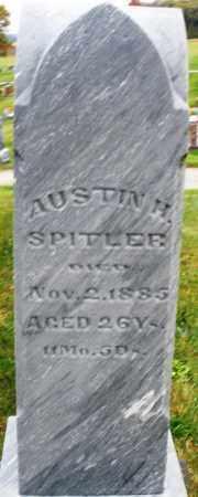 SPITLER, AUSTIN H. - Montgomery County, Ohio | AUSTIN H. SPITLER - Ohio Gravestone Photos