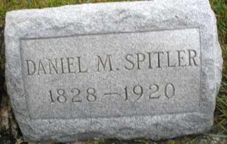 SPITLER, DANIEL M. - Montgomery County, Ohio   DANIEL M. SPITLER - Ohio Gravestone Photos