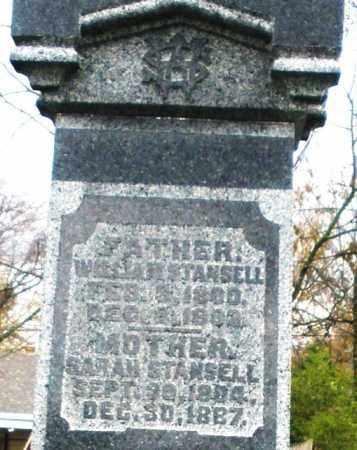 STANSELL, WILLIAM - Montgomery County, Ohio | WILLIAM STANSELL - Ohio Gravestone Photos