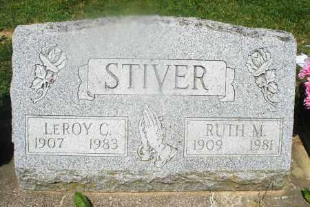 STIVER, RUTH M. - Montgomery County, Ohio | RUTH M. STIVER - Ohio Gravestone Photos
