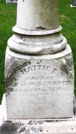 STRADER, HATTIE E. - Montgomery County, Ohio   HATTIE E. STRADER - Ohio Gravestone Photos