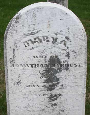 STROUSE, MARY A. - Montgomery County, Ohio | MARY A. STROUSE - Ohio Gravestone Photos