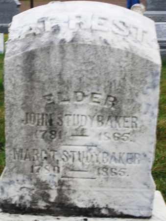 STUDYBAKER, JOHN - Montgomery County, Ohio | JOHN STUDYBAKER - Ohio Gravestone Photos