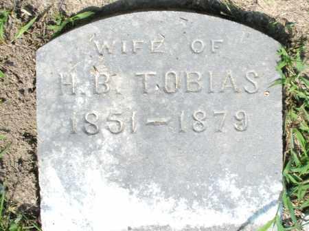 TOBIAS, W/O H. B. - Montgomery County, Ohio | W/O H. B. TOBIAS - Ohio Gravestone Photos