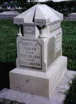 TOMAN, NANCY J. - Montgomery County, Ohio | NANCY J. TOMAN - Ohio Gravestone Photos