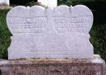ULLERY, SAMUEL N. - Montgomery County, Ohio | SAMUEL N. ULLERY - Ohio Gravestone Photos