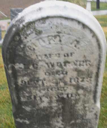 WARNER, MARY A. - Montgomery County, Ohio | MARY A. WARNER - Ohio Gravestone Photos