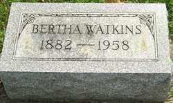 WATKINS, BERTHA - Montgomery County, Ohio | BERTHA WATKINS - Ohio Gravestone Photos