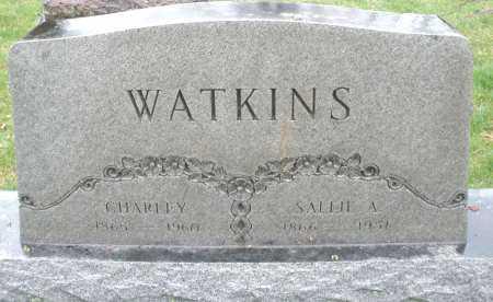 WATKINS, CHARLEY - Montgomery County, Ohio | CHARLEY WATKINS - Ohio Gravestone Photos
