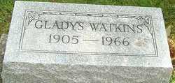 WATKINS, GLADYS ELIZABETH - Montgomery County, Ohio | GLADYS ELIZABETH WATKINS - Ohio Gravestone Photos