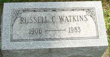 WATKINS, RUSSELL CLARK - Montgomery County, Ohio   RUSSELL CLARK WATKINS - Ohio Gravestone Photos