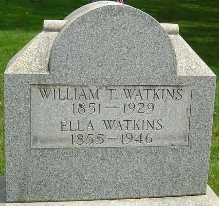 WATKINS, WILLIAM TAYLOR - Montgomery County, Ohio | WILLIAM TAYLOR WATKINS - Ohio Gravestone Photos