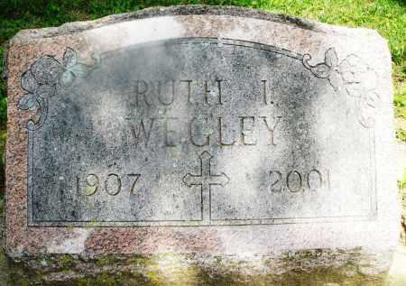 WEGLEY, RUTH I. - Montgomery County, Ohio | RUTH I. WEGLEY - Ohio Gravestone Photos