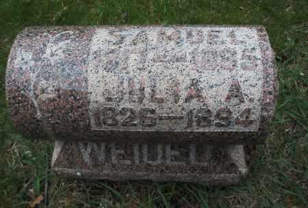 WEIDEL, SAMUEL - Montgomery County, Ohio | SAMUEL WEIDEL - Ohio Gravestone Photos