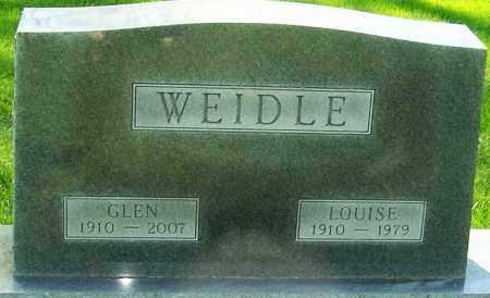 "WEIDLE, CHARLES GLENWOOD ""GLEN"" - Montgomery County, Ohio | CHARLES GLENWOOD ""GLEN"" WEIDLE - Ohio Gravestone Photos"