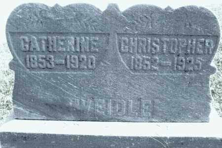 WEIDLE, CHRISTOPHER - Montgomery County, Ohio | CHRISTOPHER WEIDLE - Ohio Gravestone Photos