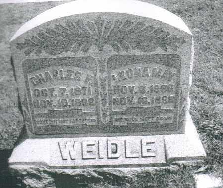 WEIDLE, LEONA MAY - Montgomery County, Ohio | LEONA MAY WEIDLE - Ohio Gravestone Photos