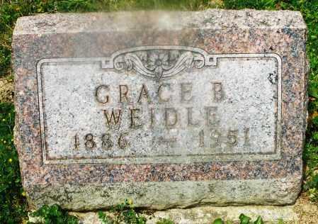 WEIDLE, GRACE B. - Montgomery County, Ohio   GRACE B. WEIDLE - Ohio Gravestone Photos