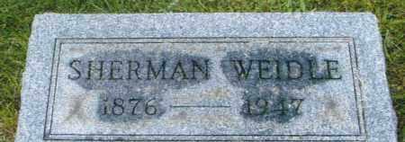 WEIDLE, ISAAC SHERMAN - Montgomery County, Ohio | ISAAC SHERMAN WEIDLE - Ohio Gravestone Photos
