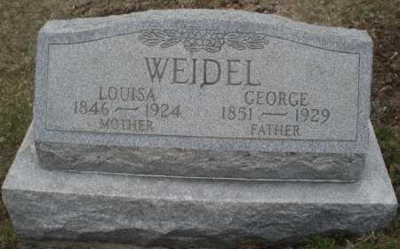 WEIDLE, LOUISA - Montgomery County, Ohio | LOUISA WEIDLE - Ohio Gravestone Photos