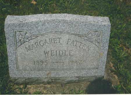 WEIDLE, MARGARET - Montgomery County, Ohio | MARGARET WEIDLE - Ohio Gravestone Photos