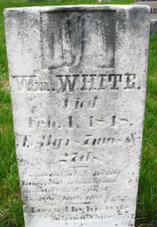 WHITE, WILLIAM - Montgomery County, Ohio | WILLIAM WHITE - Ohio Gravestone Photos