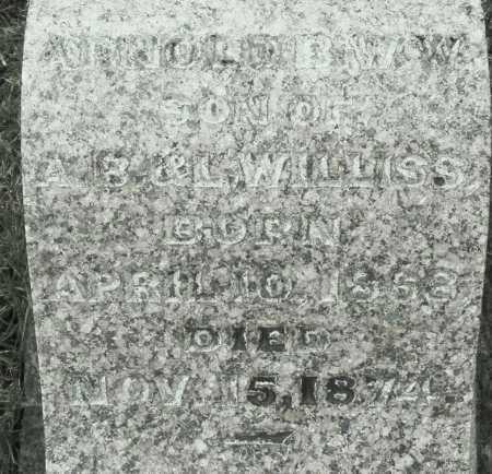 WILLISS, ARNOLD - Montgomery County, Ohio   ARNOLD WILLISS - Ohio Gravestone Photos