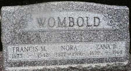 WOMBOLD, FRANCIS M. - Montgomery County, Ohio | FRANCIS M. WOMBOLD - Ohio Gravestone Photos