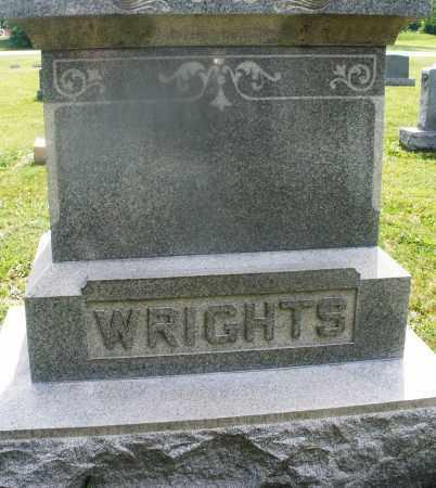 WRIGHTS, MONUMENT - Montgomery County, Ohio   MONUMENT WRIGHTS - Ohio Gravestone Photos