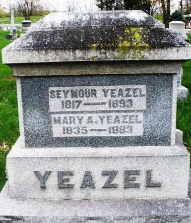 YEAZEL, SEYMOUR - Montgomery County, Ohio | SEYMOUR YEAZEL - Ohio Gravestone Photos