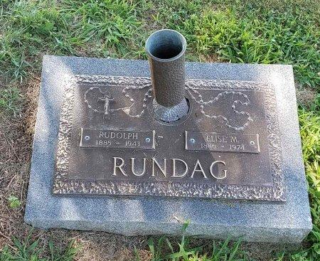 RUNDAG, ELSIE - Montgomery County, Ohio   ELSIE RUNDAG - Ohio Gravestone Photos