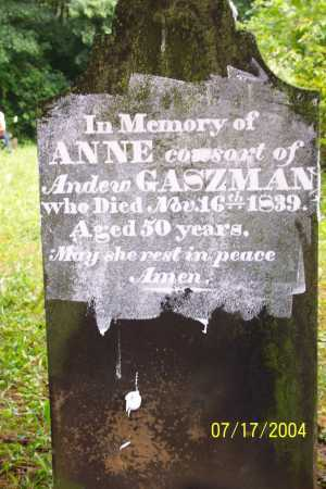 GOSSMAN (2), ANNA - Morgan County, Ohio | ANNA GOSSMAN (2) - Ohio Gravestone Photos