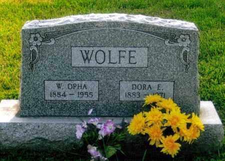 WOLFE, WILLIAM OPHA - Morgan County, Ohio | WILLIAM OPHA WOLFE - Ohio Gravestone Photos