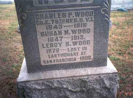 WOOD, LEROY S. - Morgan County, Ohio | LEROY S. WOOD - Ohio Gravestone Photos
