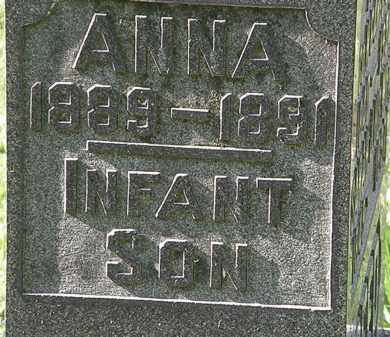 ANDREW, INFANT SON - Morrow County, Ohio | INFANT SON ANDREW - Ohio Gravestone Photos
