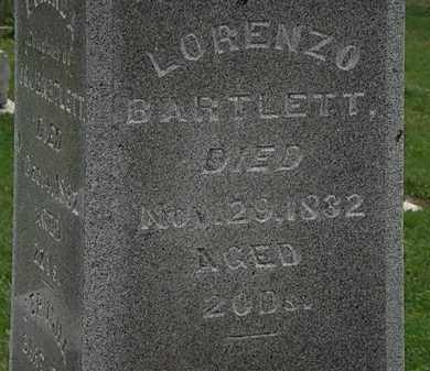 BARTLETT, LORENZO - Morrow County, Ohio | LORENZO BARTLETT - Ohio Gravestone Photos