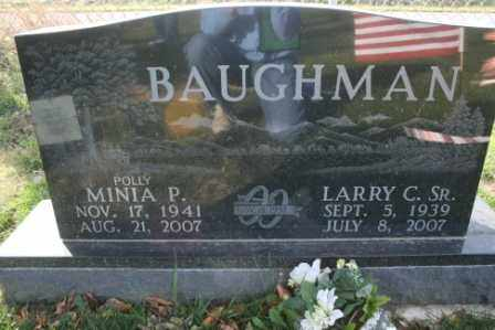 BAUGHMAN, LARRY C SR. - Morrow County, Ohio | LARRY C SR. BAUGHMAN - Ohio Gravestone Photos