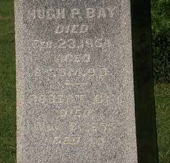 BAY, HUGH P. - Morrow County, Ohio | HUGH P. BAY - Ohio Gravestone Photos